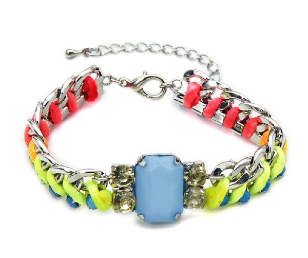 Neon coloured bracelet